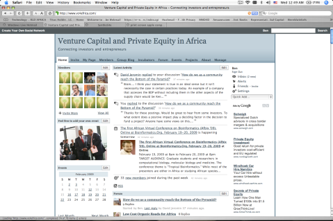 Venture Capital and Private Equity in Afric