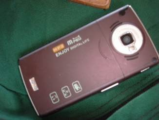 Fake Nokia N95 - Back
