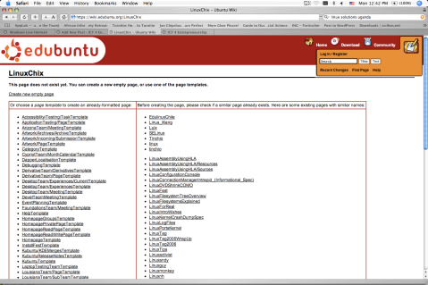 Ubuntu Education Edition; An official version of Ubuntu Linux designed for use in classrooms and schools.