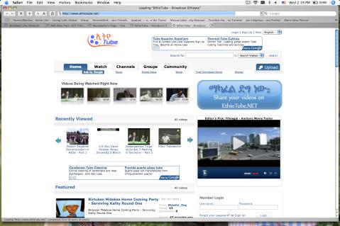 Ethiopia has its own YouTube